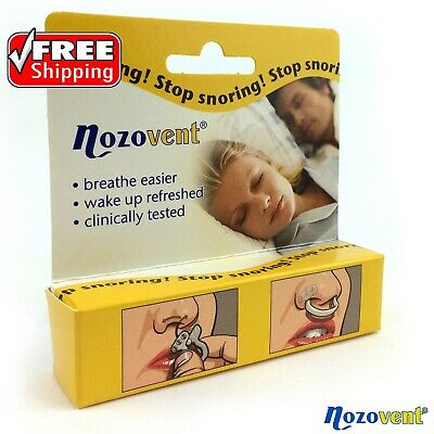 Nozovent Nasal Dilator ANTI SNORING Made in Sweden - M/L