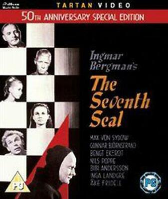 Seventh Seal - Blu-ray Region B Free Shipping!