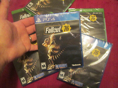 Fallout 76 Ps4 Sony Brand New Factory Sealed Us Edition