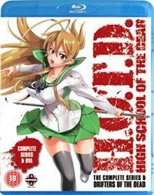 High School of the Dead: Complete Series - Blu-ray Region B Free Shipping!