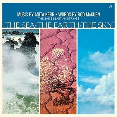 The Sea * The Earth * The Sky (Clam shell) ROD McKUEN / ANITA KERR & THE SAN SEB