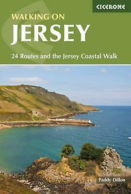 Walking on Jersey: 24 Routes and the Jersey Coastal Walk by Paddy Dillon Paperba