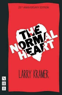 The Normal Heart by Larry Kramer (English) Paperback Book Free Shipping!