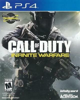 Call of Duty: Infinite Warfare NM Complete PlayStation 4 PS4 Game