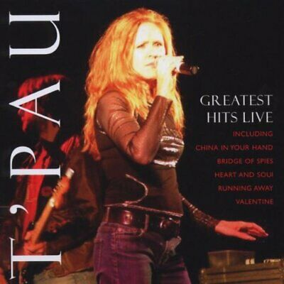 T'pau - Greatest Hits Live - T'pau CD H6VG The Cheap Fast Free Post The Cheap