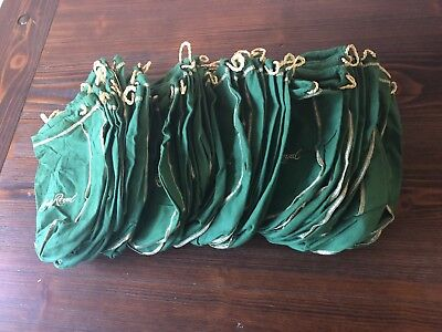 Lot Of 53 Crown Royal Apple Bags  — Green