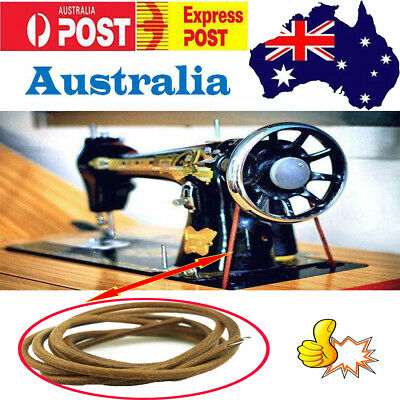 Sewing Machine Treadle Leather Motor Drive Belt For Singer,Jones And Most Brands