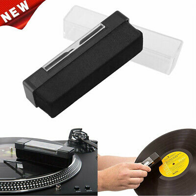 New Vinyl Record Cleaning Kit Cleaner Remover Carbon Fiber Anti Static Brush