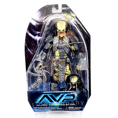 "7"" NECA Alien VS Predator AVP Series Wave 14 Scar Action Figure Model Toy Gift"
