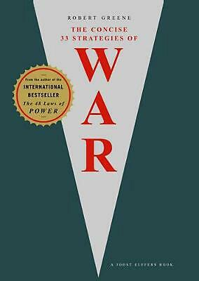 Concise 33 Strategies of War by Robert Greene (English) Paperback Book Free Ship