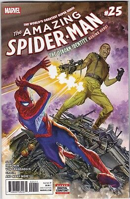 Marvel Comic Amazing Spider-Man #25 Cover A 1St Print  Nm Unread #74741-5