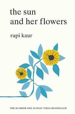 The Sun and Her Flowers by Rupi Kaur Paperback Book Free Shipping!