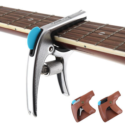 Quick Change Tune Clamp Trigger Capo for Acoustic Electric Classical Guitar