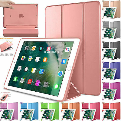 Smart Stand Magnetic New Leather Case Cover 4 All iPad Models Auto Wake & Sleep