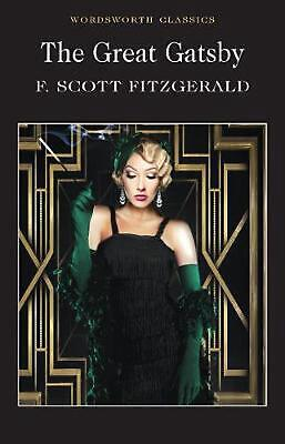 The Great Gatsby by F. Scott Fitzgerald Paperback Book Free Shipping!