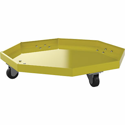 Valley Craft 1000Lb -Cap -Drip-Catching Drum Dolly-Use with Drums 22-28in -Dia.