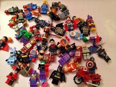 Lego Super Heroes  , Dc / Marvel Minifigures ... Choose Your Figure , Genuine