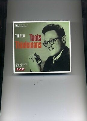 Toots Thielemans - The Real... Toots Thielemans - 3 Cds - New!!