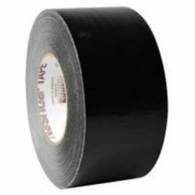 Nashua 398 Coated Cloth Professional Grade Duct Tape 11 Mil 72 mm x 55 m Black