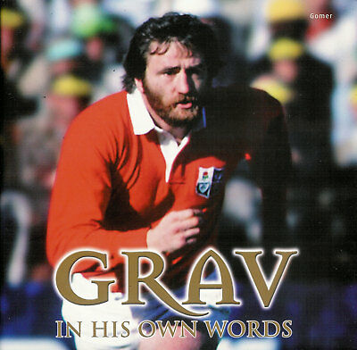 Ray GRAVELL Llanelli, Wales & British Lions rugby book Grav - In His Own Words