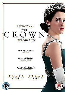 The Crown Season 2 DVD New and sealed region 2