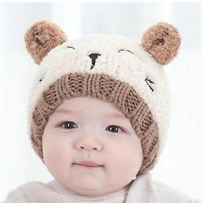 Toddler Kids Girl Boy Baby Infant Winter Warm Crochet Knit Hat Beanie Cap Hot