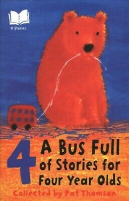 A Bus Full Of Stories For 4 Year Olds Paperback Book The Cheap Fast Free Post