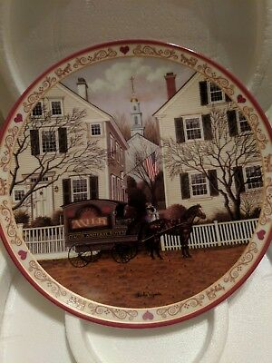 Collectors Plate By Charles Wysocki