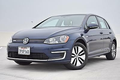 2016 Golf SE Electric Factory Warranty We Export 2016 Volkswagen eGolf SE Electric Factory Warranty California  Car * We Export