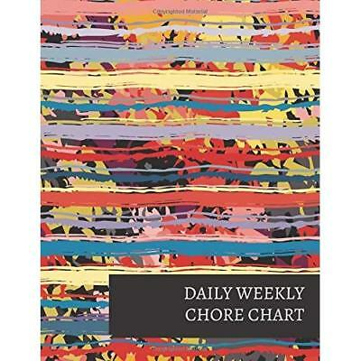 DAILY WEEKLY CHORE Chart Works Like Dry Erase Board You Choose Name