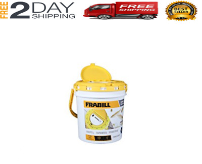 Live Fish Bait Bucket With Aerator Frabill Fishing Aerated Saver Minnow Cooler