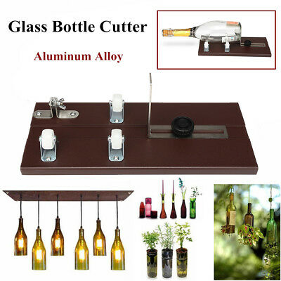 Wine Beer Glass Bottle Cutter Machine Recycle Tool Jar Kit Crafts Cutting DIY
