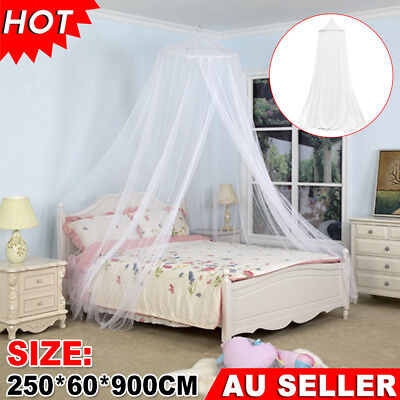 Elegant Lace Bed Canopy Netting Curtain Fly Midges Insect Cot Mosquito Dome Net