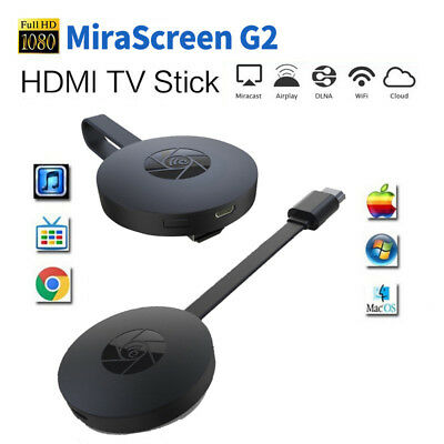 MIRASCREEN G2 per GOOGLE WIRELESS HDMI DISPLAY DONGLE MEDIA VIDEO chromecast