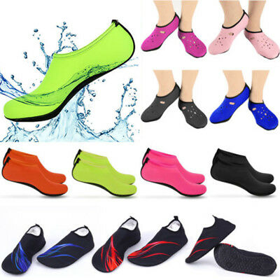 Unisex Skin Water Surfing Shoes Aqua Socks Yoga Exercise Pool Beach Swim Sock