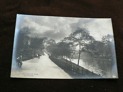 Glasgow Postcard, By the Kelvin's Side, Davidson's Photographic