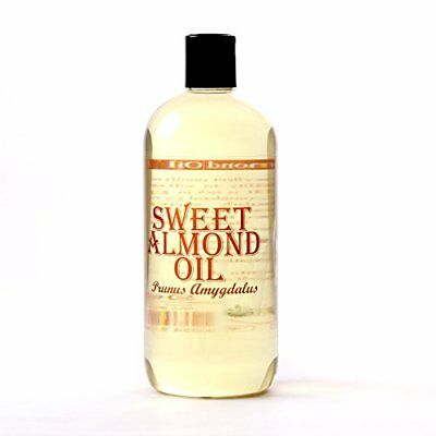 Sweet Almond Carrier Oil - 1 Litre - 100% Pure