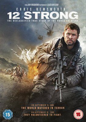 12 Strong DVD. Free delivery.
