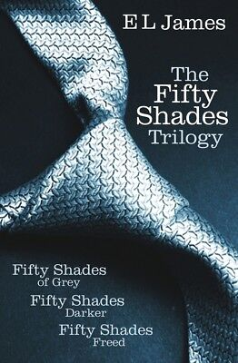 Fifty Shades Trilogy (E-B00K , PDF) Fifty Shades of Grey, Darker, Freed
