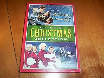 CLASSIC CHRISTMAS COLLECTION It A Wonderful Life White Christmas DVD SET NEW