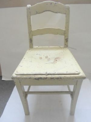 27977 Biedermeier Kinderstuhl shabby chic childrens chair 65cm