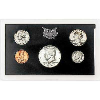 1970 US Mint Proof Set 5 Coin Set in box and coa