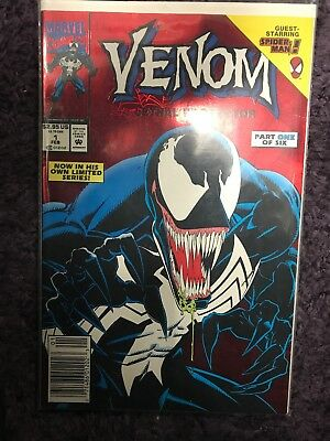 Venom - Lethal Protector #1 - 1st issue VF Red Foil NEW