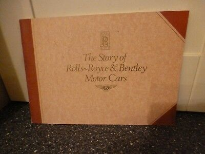 The Story Of Rolls Royce & Bentley Motor Cars Brown Cover