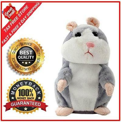 Cheeky Hamster Interactive Talking Plush Toy Repeats What You Say Electronic Pet