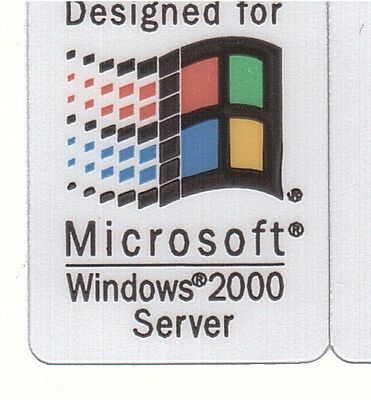 Designed for Microsoft Windows2000 Se Sticker Aufkleber Case Badge