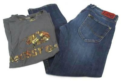 Country Outfit Lee Denim Slim Regular Fit Jeans W34 L31 Mossy Oak T-Shirt Medium