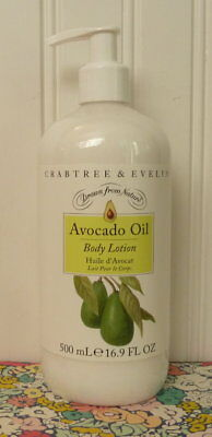 Crabtree & Evelyn - Avocado Oil - Body Lotion 16.9 Oz Pump