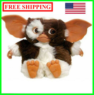 "NECA GREMLINS GREMLIN DOLL TOY MOGWAI SMILING FACE GIZMO PLUSH 6"" new in bag"
