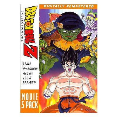 Dragon Ball Z: Movie Pack  Collection One (Movies 1-5), New DVDs
